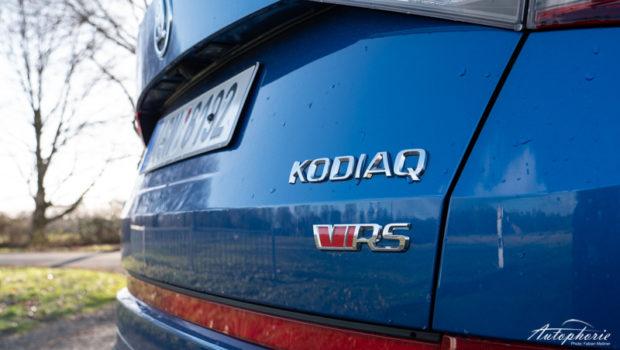 2019 Skoda Kodiaq RS Logo Heckklappe