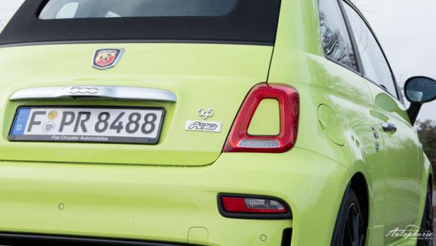Abarth 595C Pista Logo