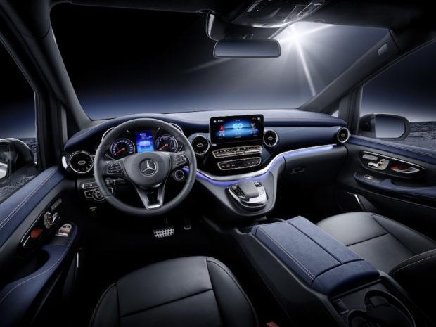 Concept EQV Cockpit