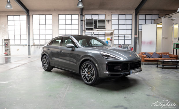 Porsche Cayenne Coupé Frontansicht