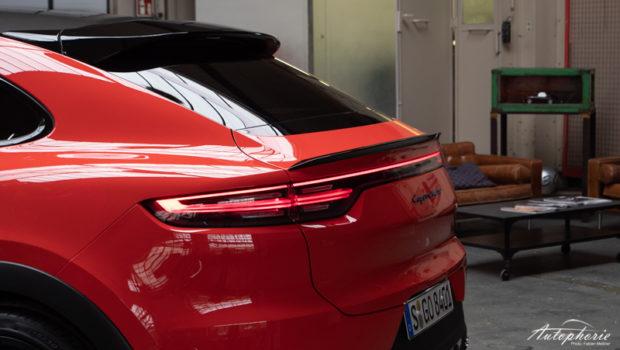 Porsche Cayenne Coupé Heck Detail