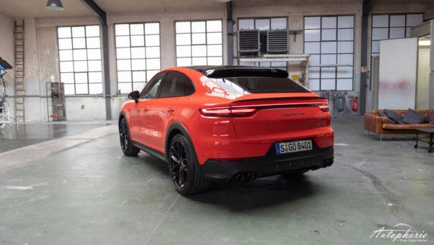 Porsche Cayenne Coupé Heckansicht