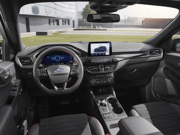 2019 Ford Kuga ST-Line Cockpit