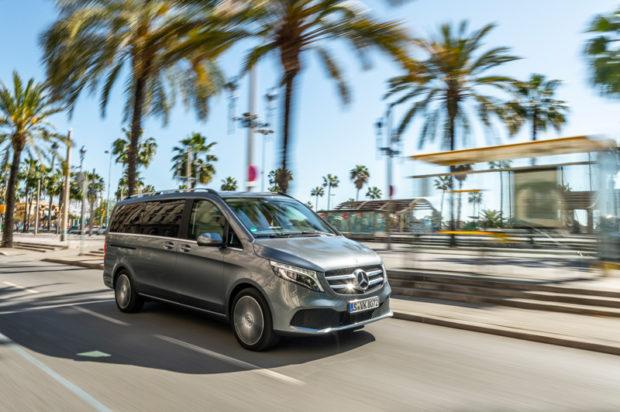 Mercedes-Benz V 300d Front
