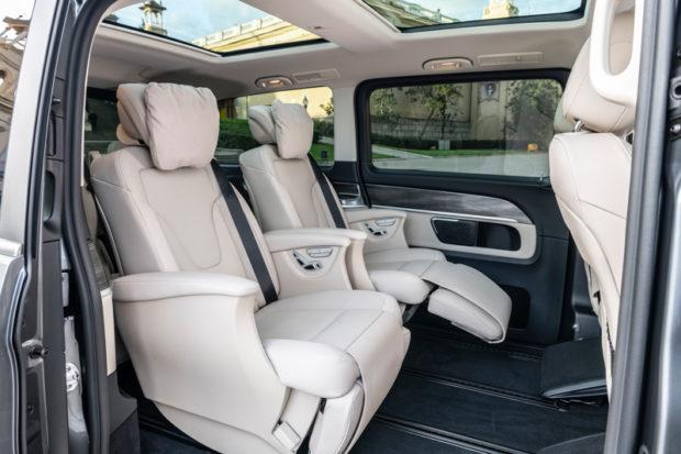 Mercedes-Benz V-Klasse Luxussitze 2019