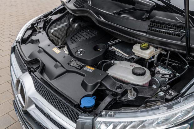 Mercedes-Benz V-Klasse OM 654 Dieselmotor