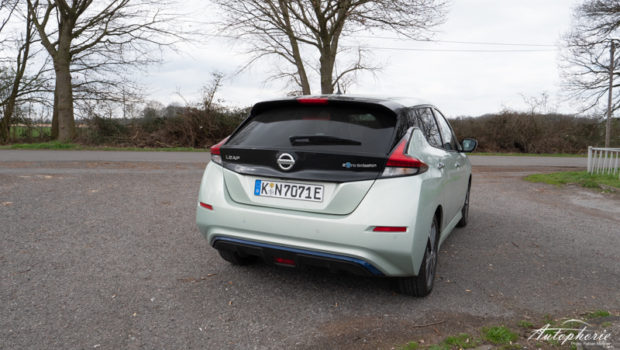 Nissan Leaf Spring Cloud Heckansicht
