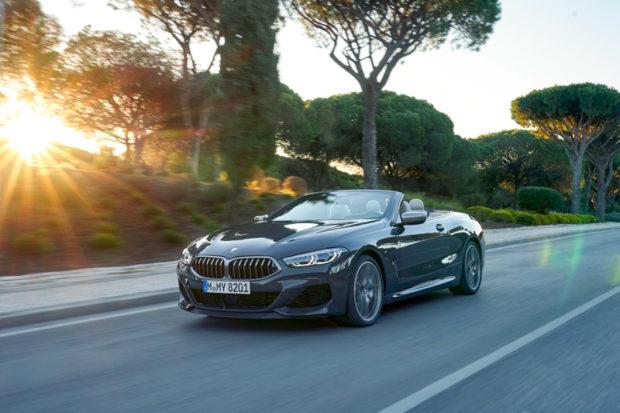 BMW M850i Cabrio Front