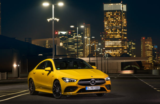 Mercedes-AMG CLA 35 4MATIC Front