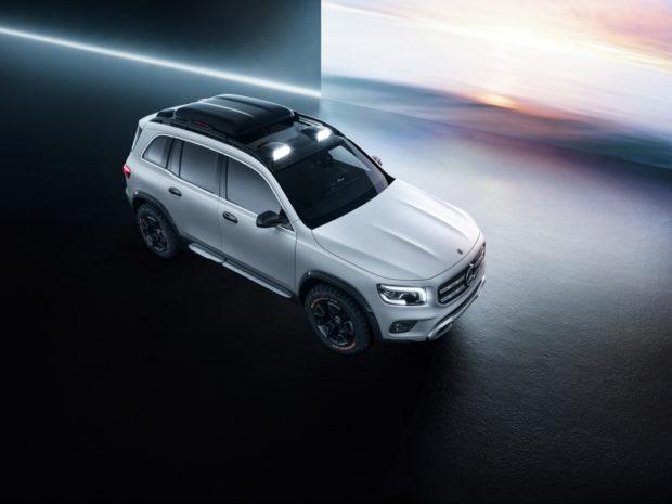 Mercedes-Benz Concept GLB Draufsicht