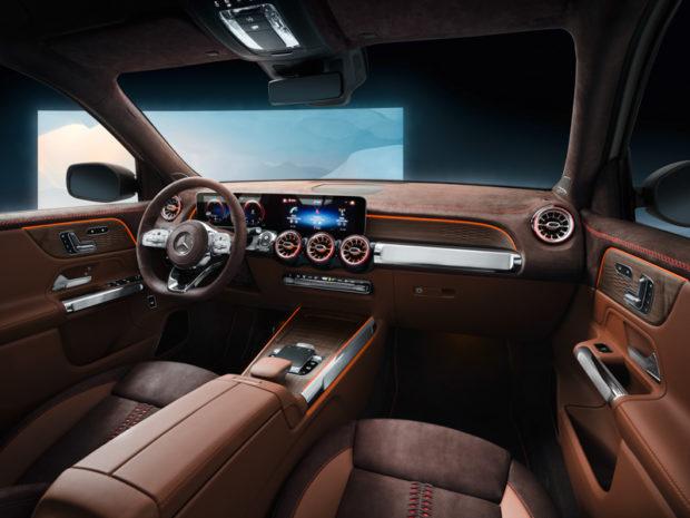 Mercedes-Benz Concept GLB Interieur