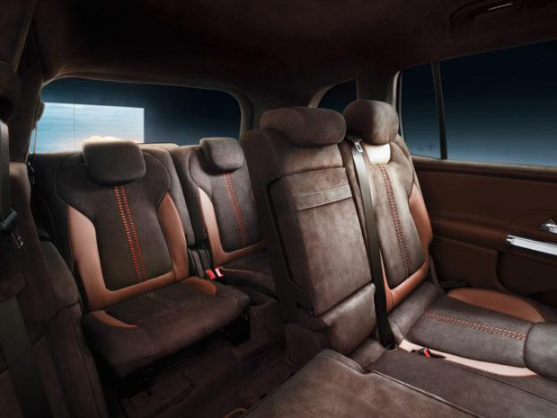 Mercedes-Benz Concept GLB Dritte Sitzreihe