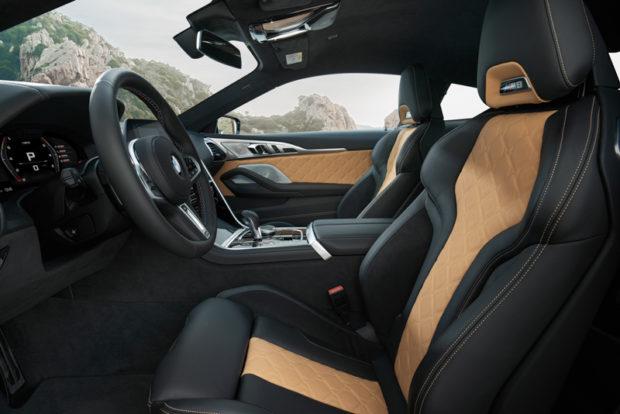 BMW M8 Competition Coupé Sportsitze