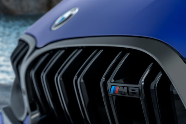 BMW M8 Competition schriftzug