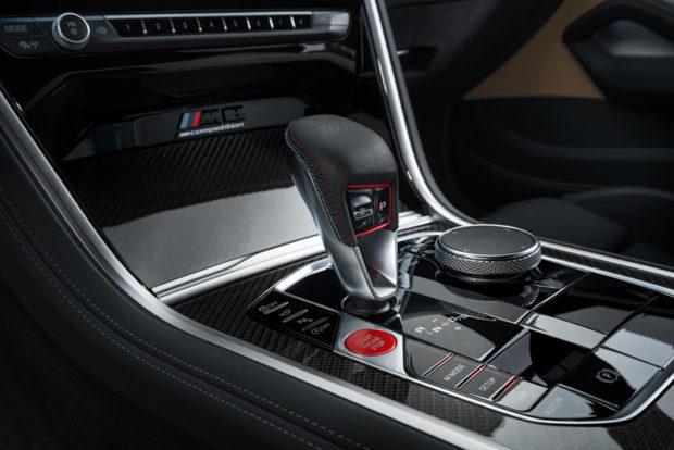 BMW M8 Competition Mittelkonsole