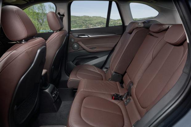 BMW X1 2019 Rückbank verschiebbar