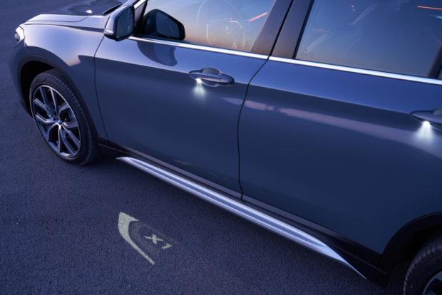 BMW X1 2019 Einstiegsbeleuchtung