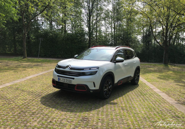 Citroen C5 Aircross weiss rote Details