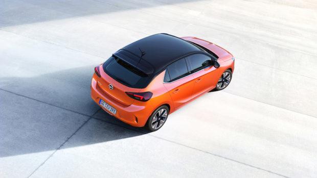 Neuer Opel Corsa F Draufsicht