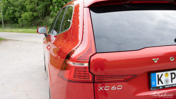 Volvo XC60 Kennzeichnung