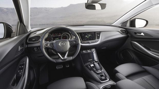 Opel Grandland X Hybrid4 Cockpit