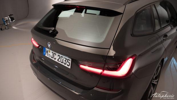 BMW 3er Touring G21 getrennte Heckscheibe