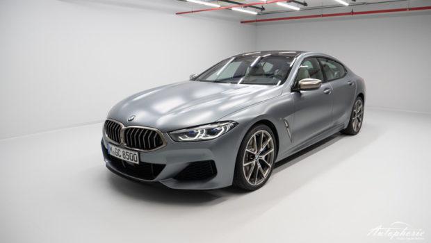 BMW 8er Gran Coupé Frontansicht