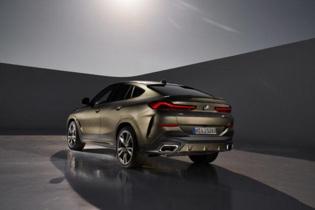 Neuer BMW X6 2019 Heckansicht