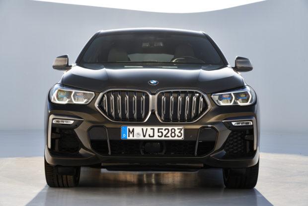 Front neuer BMW X6