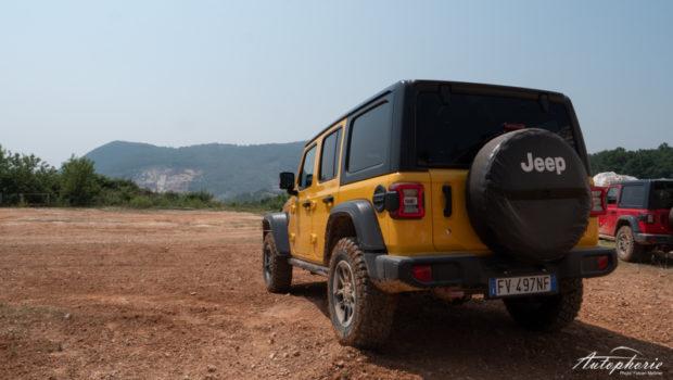 Jeep Wrangler Heckansicht