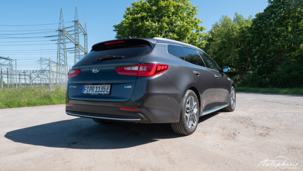 Kia Optima SW Plug-in Hybrid Heck