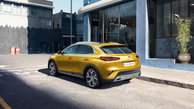 2019 Kia XCeed Launch Edition Quantum Yellow Heck