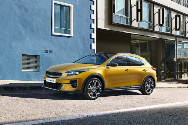 2019 Kia XCeed Launch Edition Quantum Yellow Front