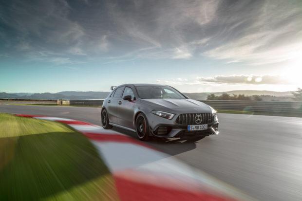 Mercedes-AMG A 45 S 4MATIC+ Rennstrecke