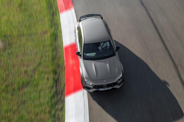 Draufsicht Mercedes-AMG A 45 S