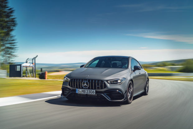 Mercedes-AMG CLA 45 S 4MATIC+ Rennstrecke