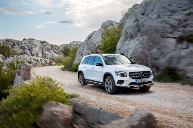 Mercedes-Benz GLB X247 digitalweiss