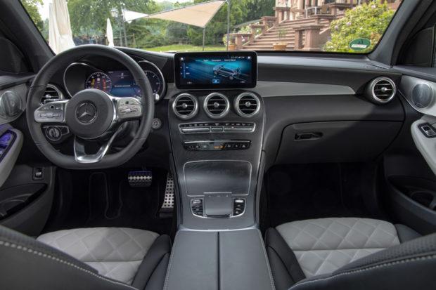 GLC 2019 Interieur MBUX System
