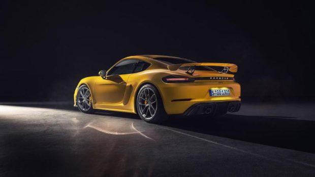 2019 Porsche 718 Cayman GT4 Heck