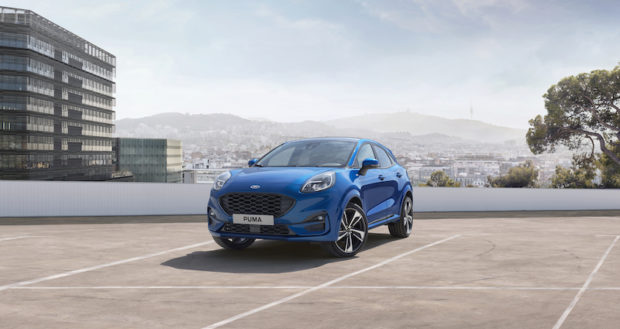 2020 Ford Puma ST-Line Front
