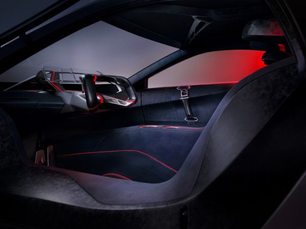 BMW Vision M Next Innenraum