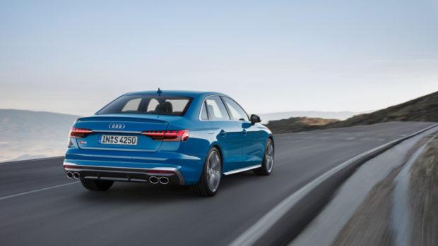 Audi S4 TDI quattro turboblau