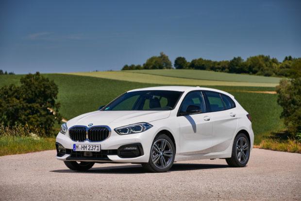 BMW 118d Sport Line Front