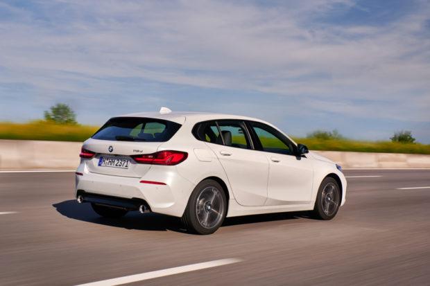 BMW 118d Heck