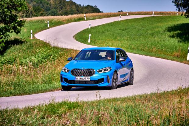 BMW M135i xDrive Kurvendynamik