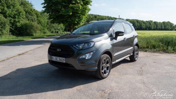 Ford EcoSport ST-Line Magentic Grau