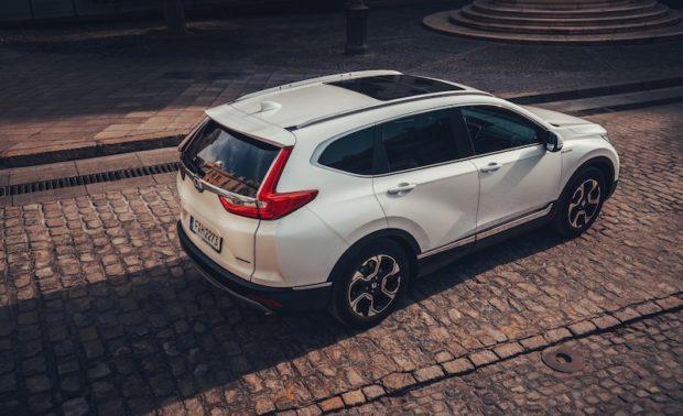 2019 Honda CR-V Hybrid Draufsicht