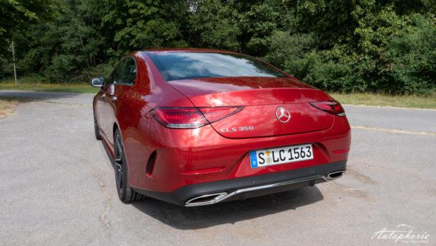 Mercedes-Benz CLS 350 Coupé Heckansicht