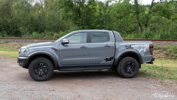 Ford Ranger Raptor Seitenansicht