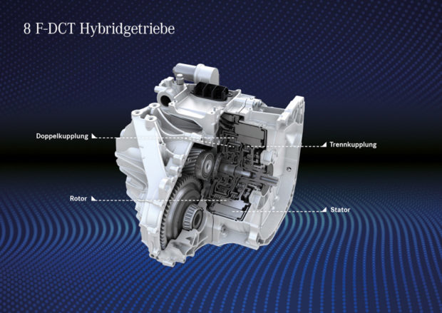 Mercedes-Benz A 250e Plug-in Hybrid Getriebe